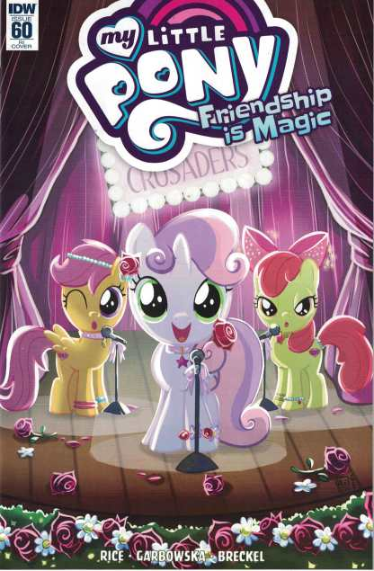 My Little Pony Friendship is Magic #60 1:10 Valentina Pinto Variant IDW 2012