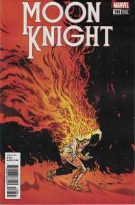 Moon Knight #188 1:25 Daniel Warren Johnson Variant Marvel Legacy