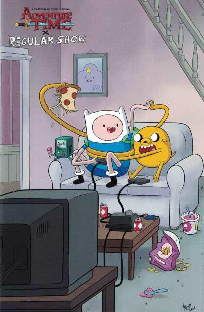 Adventure Time Regular Show #4 1:10 Ian McGinty Variant Boom 2017