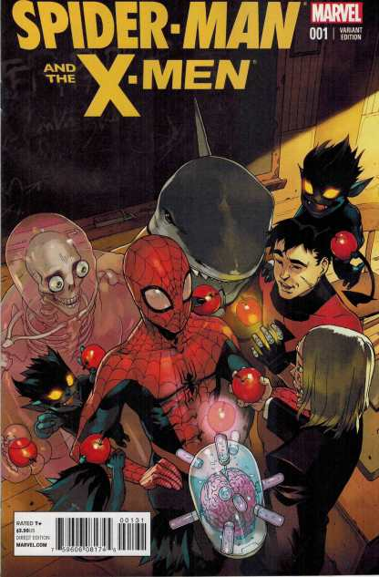Spider-Man and the x-Men #1 1:25 Bengal Variant