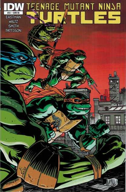 Teenage Mutant Ninja Turtles #41 1:10 Retailer Incentive Variant