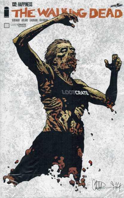 Walking Dead #132 Loot Crate Exclusive Variant Adlard