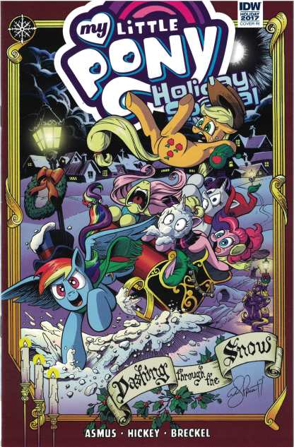 My Little Pony Holiday Special 2017 1:10 Andy Price Variant IDW