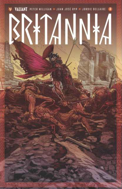 Britannia #4 1:20 Guedes Variant Cover E Valiant 2016