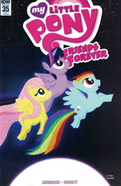 My Little Pony Friends Forever #35 1:10 Chanani Incentive Variant RI IDW MLP
