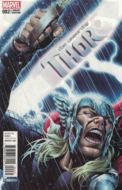 Unworthy Thor #2 1:50 Jim Cheung Variant NOW Marvel 2016