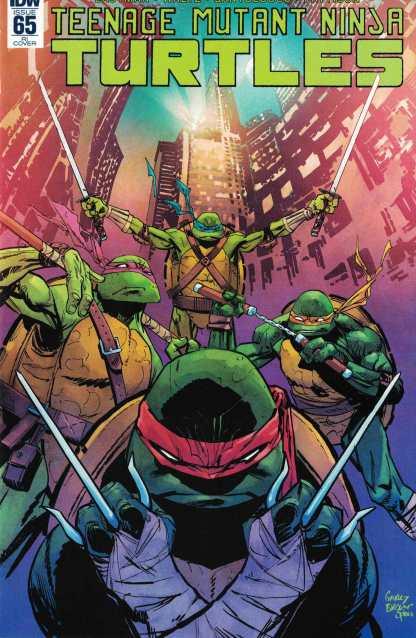Teenage Mutant Ninja Turtles #65 1:10 Retailer Incentive Variant RI IDW TMNT