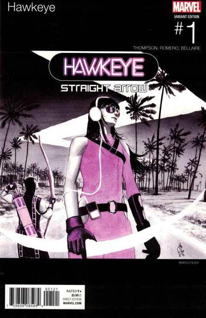 Hawkeye #1 Marco Rudy Hip Hop Variant NOW Marvel 2016 Kate Bishop