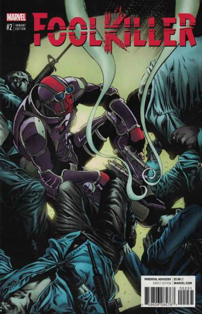 Foolkiller #2 1:25 Mike Perkins Variant NOW Marvel 2016 Max Bemis