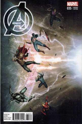 Avengers #35 1:10 Augustin Allessio Variant Marvel NOW 2012