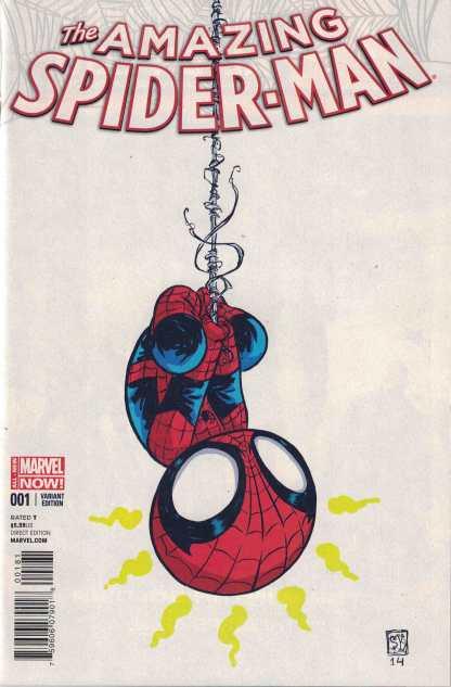Amazing Spider-Man #1 Skottie Young Babies Variant Marvel 2014