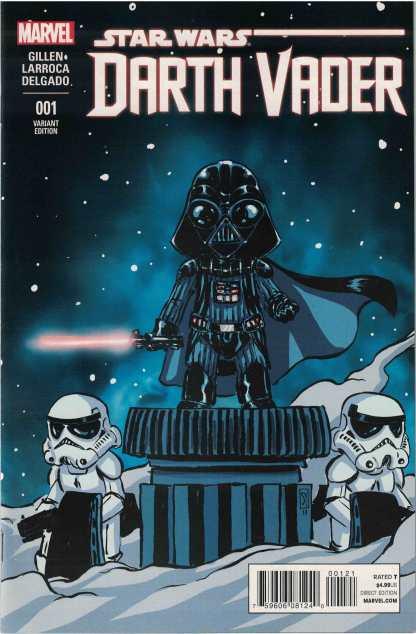 Star Wars Darth Vader #1 Unlocked Skottie Young Variant Marvel 2015