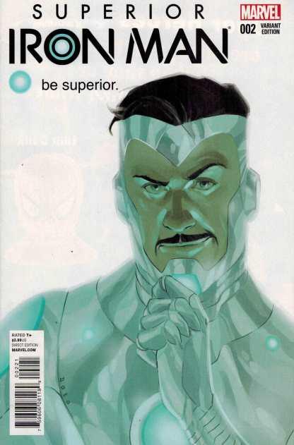 Superior Iron Man #2 1:25 Phil Noto Variant