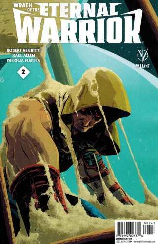 Wrath of the Eternal Warrior #2 1:10 Kano Variant Valiant 2015