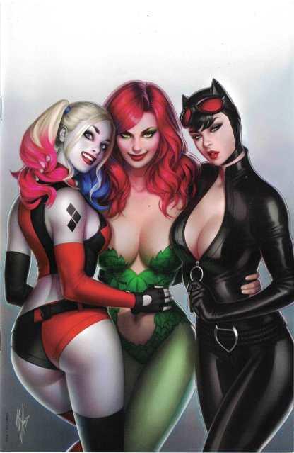 Harley Quinn 25th Anniversary #1 Warren Louw Mega Gaming Virgin Variant DC 2017