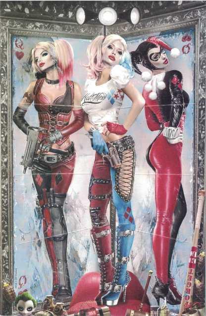 Harley Quinn 25th Anniversary #1 Natali Sanders Salt Lake Con Virgin Variant