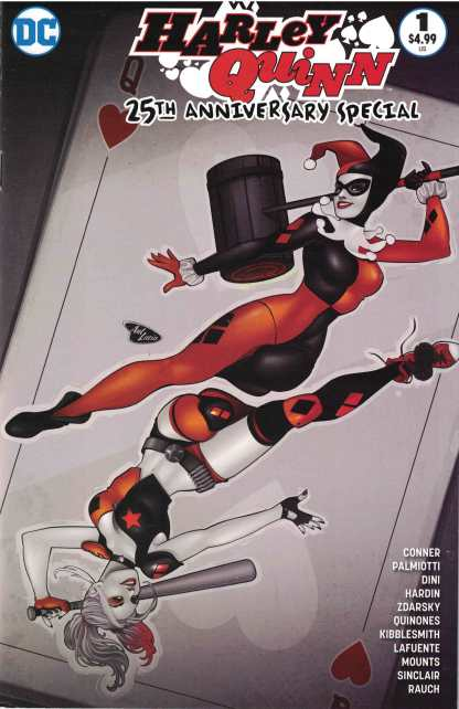 Harley Quinn 25th Anniversary #1 Buy Me Toys Ant Lucia Variant DC 2017