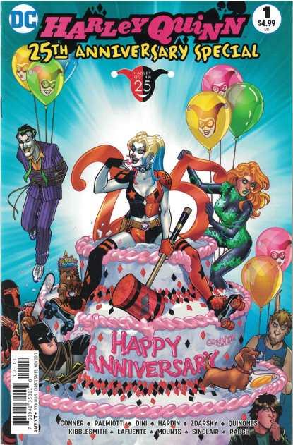 Harley Quinn 25th Anniversary #1 Amanda Conner Variant DC 2017