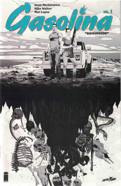 Gasolina #1 Ashcan Variant Retailer Exclusive 2017 Image Comics Skybound