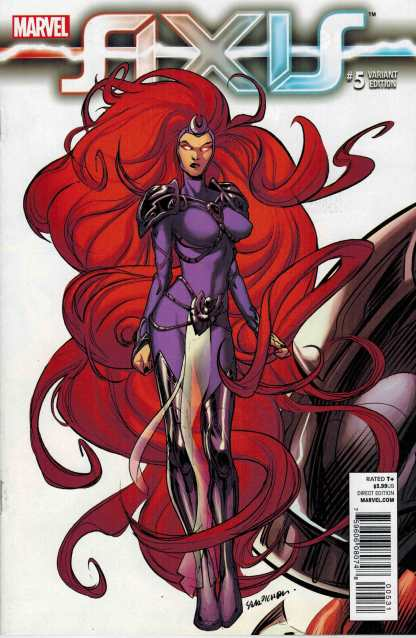 Axis #5 1:50 Sara Pichelli Variant Medusa