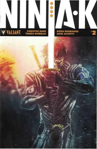 Ninja-K #2 1:50 Ben Templesmith Icon Valiant Variant 2017