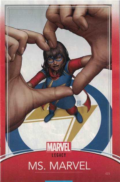 Ms. Marvel #25 Unlocked John Tyler Christopher Trading Card Variant Marvel