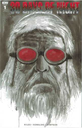 30 Days of Night #1 1:15 Ben Templesmith Variant IDW 2017