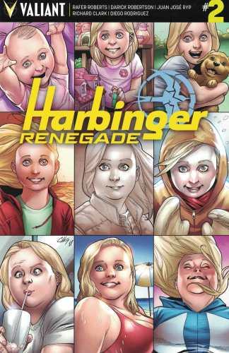 Harbinger Renegade #2 1:10 Clayton Henry Variant Cover E Valiant 2016 Faith