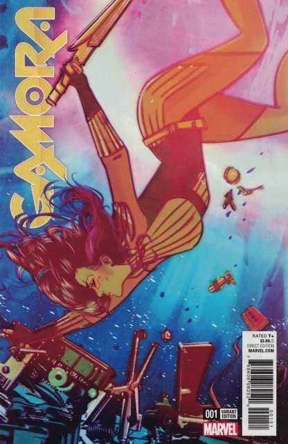 Gamora #1 1:25 Tula Lotay Variant NOW Marvel 2016 Guardians of the Galaxy