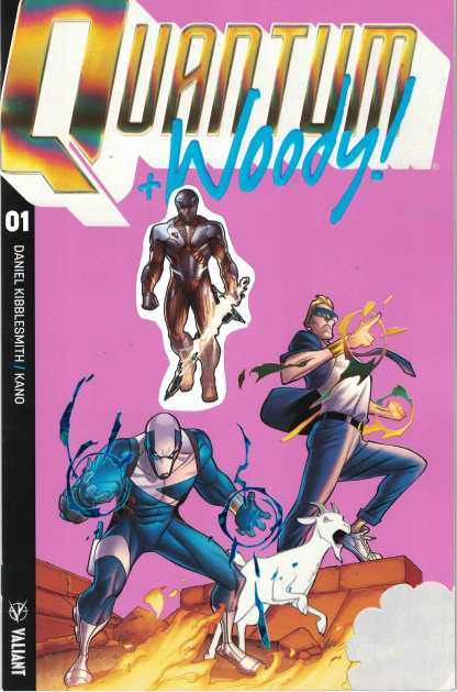 Quantum and Woody #1 1:250 Clayton Henry Most Variant Cover of All Time Valiant
