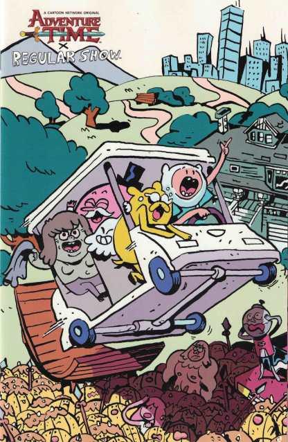 Adventure Time Regular Show #5 1:10 Diigii Daguna Variant Boom 2017