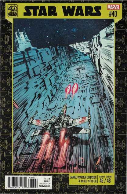 Star Wars #40 Unlocked Daniel Warren Johnson 40th Anniversary Variant Marvel