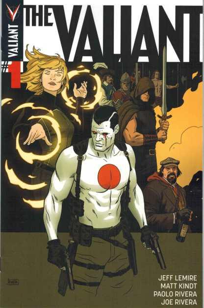 The Valiant #1 New 1st Print SOLD OUT Jeff Lemire Matt Kindt 2014