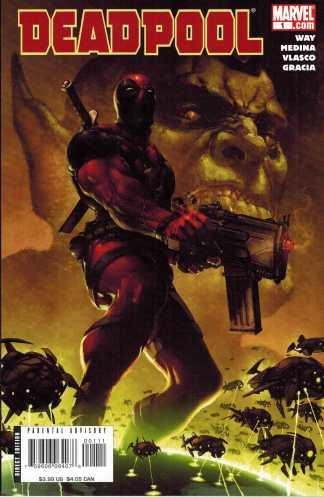 Deadpool (2008) #1 VF/NM Daniel Way First Print Marvel