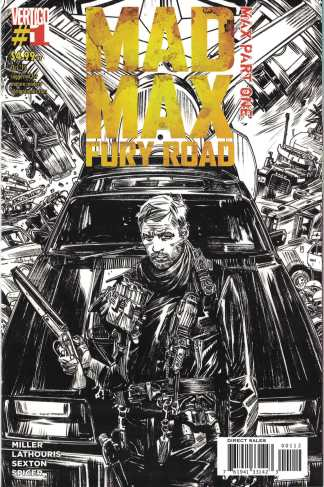 Mad Max Fury Road #1 Tommy Lee Edwards 2nd Print DC 2015