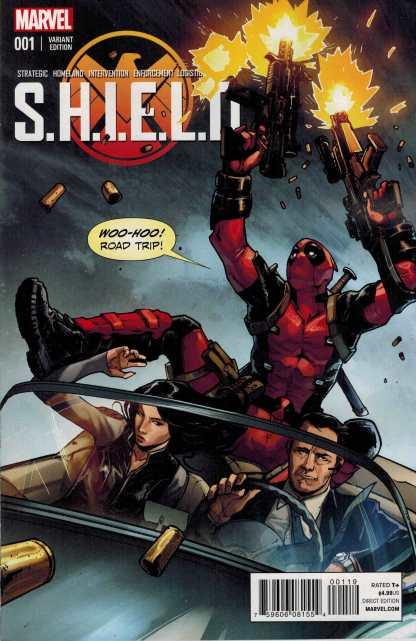 SHIELD #1 1:25 Sara Pichelli Young Guns Deadpool Variant