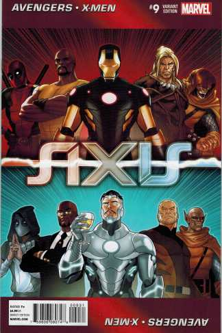 Avengers & X-Men Axis #9 1:50 Paul Renaud Looper Variant