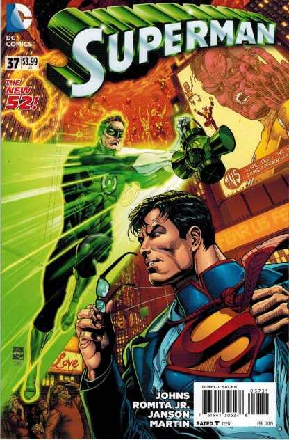 Superman #37 1:50 Ethan Van Sciver New 52 Variant DC 2011