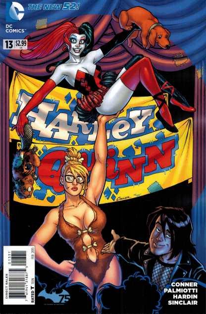 Harley Quinn #13 1:25 Amanda Conner Variant DC New 52 2014