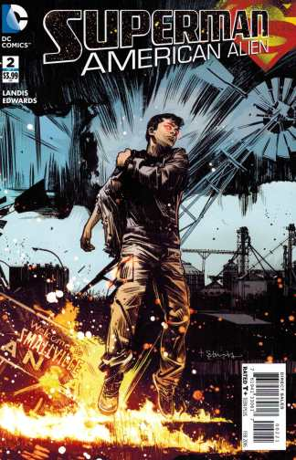 Superman American Alien #2 1:25 Tommy Lee Edwards Variant DC 2015
