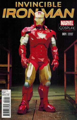 Invincible Iron Man #1 1:15 Cosplay Variant Marvel ANAD 2015