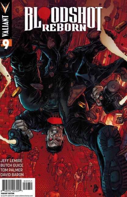 Bloodshot Reborn #9 1:20 Ryp Variant Cover E Valiant 2015