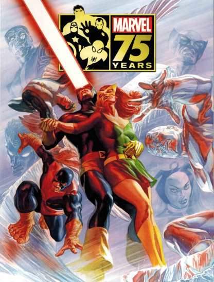Marvel 75th Anniversary Magazine Alex Ross X-Men Variant 2014 HTF