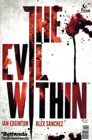 The Evil Within #1 Variant Titan Comics Cover B