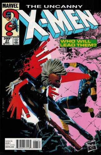 Uncanny X-Men #27 1:15 Hasbro Variant