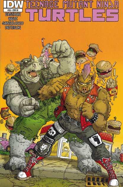 Teenage Mutant Ninja Turtles #39 1:10 Retailer Incentive Variant RI IDW