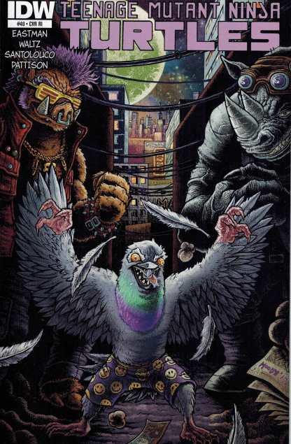 Teenage Mutant Ninja Turtles #40 1:10 Retailer Incentive Variant RI IDW