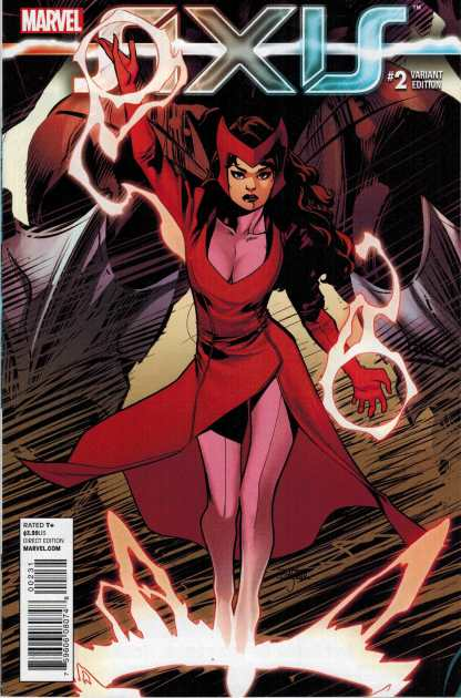 Axis #2 1:50 Asrar Variant Scarlet Witch