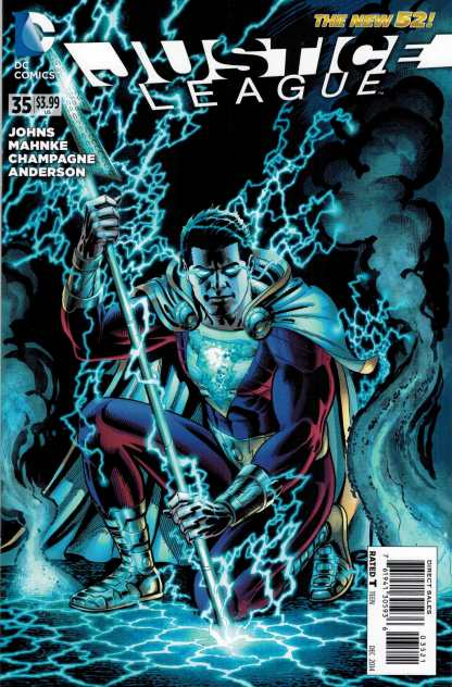 Justice League #35 1:25 Jerry Ordway Variant New 52 DC 2011