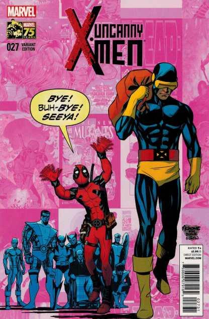 Uncanny X-Men #27 Deadpool 75th Anniversary Variant NOW